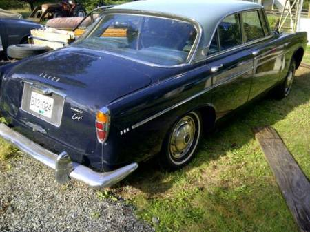 1967 Rover P5 3 Liter right rear