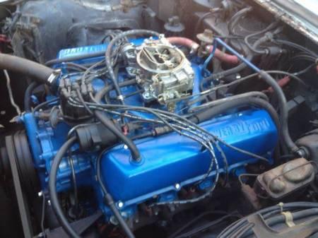 1968 Ford Thunderbird sedan project engine