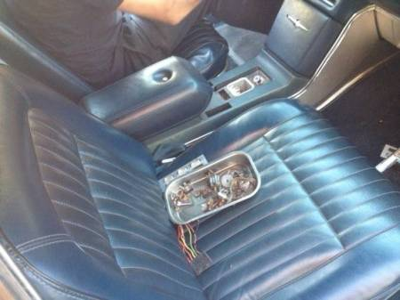 1968 Ford Thunderbird sedan project interior