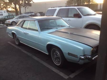 1968 Ford Thunderbird sedan project right side