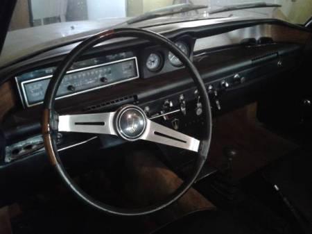 1968 Rover 2000TC interior