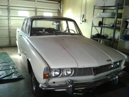 1968 Rover 2000TC right front