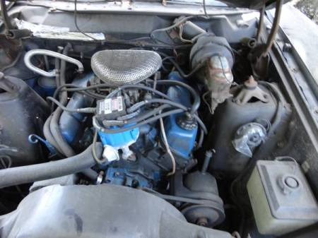 1971 Ford Torino Squire engine