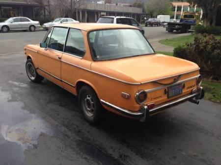 1972 BMW 2002 left rear