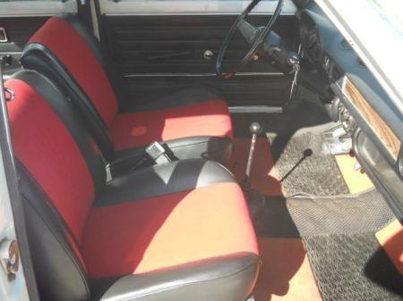 1972 Fiat 128 Berlina interior