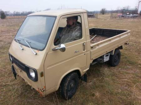 1972 Suzuki Carry left front