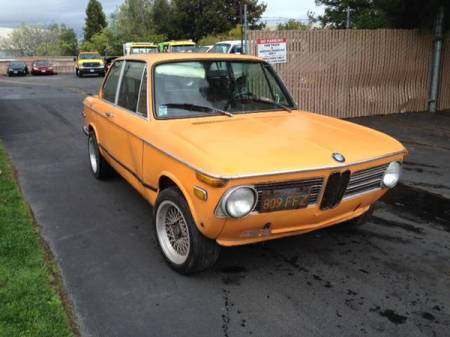1973 BMW 2002 right side