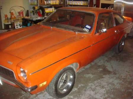 1973 Chevrolet Vega GT left front