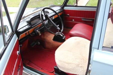 1974 Fiat 124 TC wagon interior