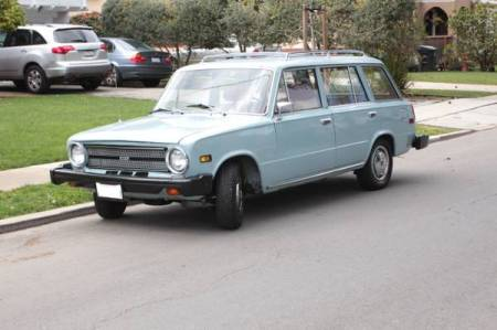 1974 Fiat 124 TC wagon left front