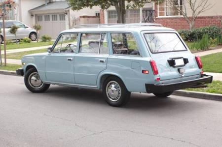 1974 Fiat 124 TC wagon left rear