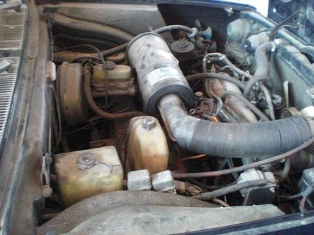 1974 Lancia 2000 Berlina engine