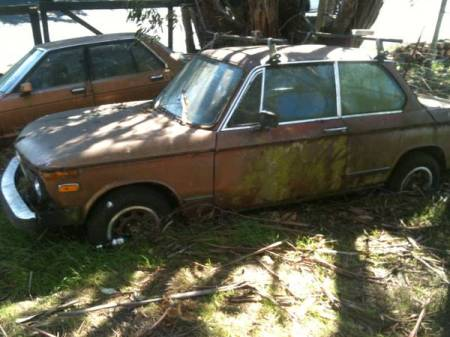 1975 BMW 2002 left side