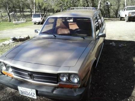 1980 Peugeot 504 diesel wagon left front