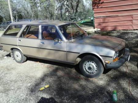 1980 Peugeot 504 diesel wagon right front
