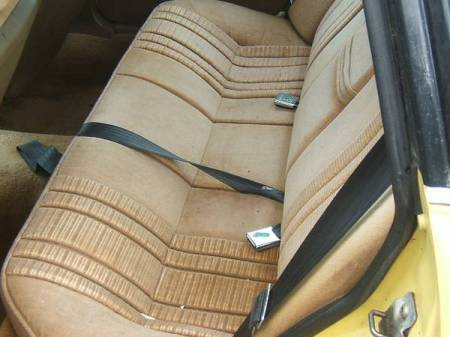 1980 Rover 3500 SD1 interior