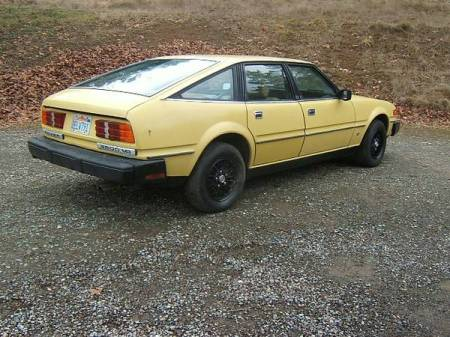 1980 Rover 3500 SD1 right rear