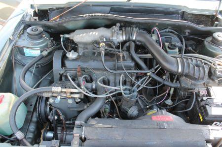 1981 VW Scirocco S engine