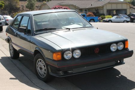 1981 VW Scirocco S right front