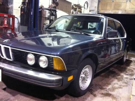1983 BMW 733i left front