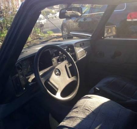 1983 Saab 900 sedan interior