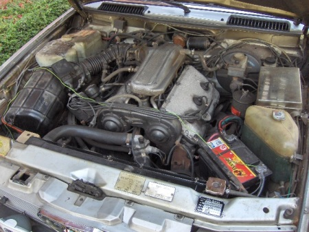 1984 Alfa Romeo Alfa 6 engine