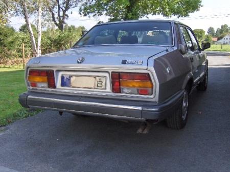 1984 Alfa Romeo Alfa 6 right rear