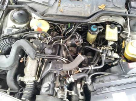 1986 Audi 5000CS avant turbo engine