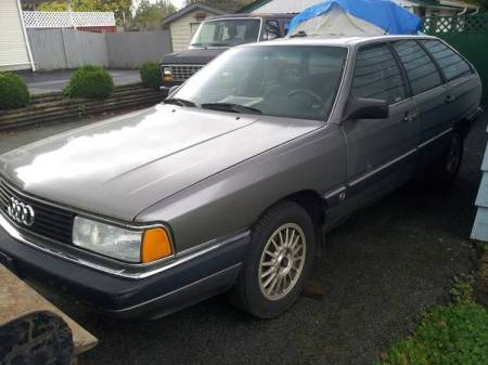 1986 Audi 5000CS avant turbo left front
