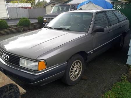 1986 Audi 5000CS avant turbo left front