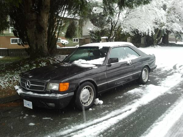 Collect all two 1986 mercedes 560 sec and bonus 560 sel for 1986 mercedes benz 560 sec