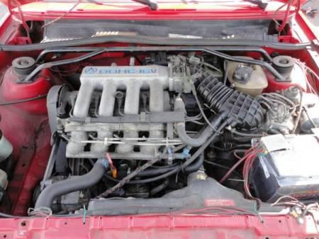1987 Volkswagen Scirocco 16V engine