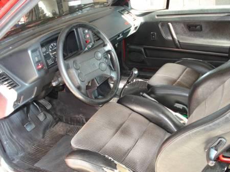 1987 Volkswagen Scirocco 16V interior