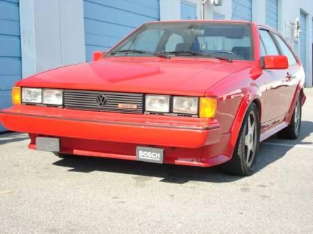 1987 Volkswagen Scirocco 16V left front