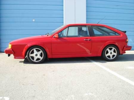 1987 Volkswagen Scirocco 16V left side
