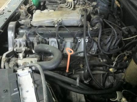 1989 Audi 100 Quattro engine