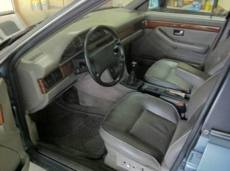 1989 Audi 100 Quattro interior