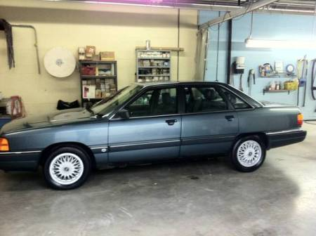 1989 Audi 100 Quattro left side