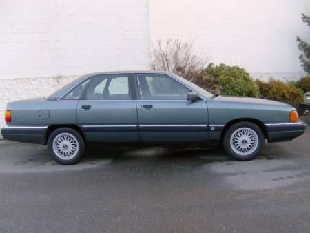 1989 Audi 100 Quattro right side