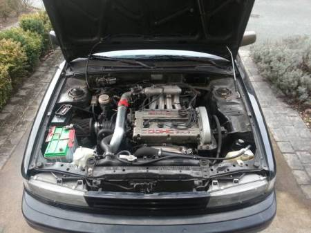 1989 Plymouth Colt GT engine