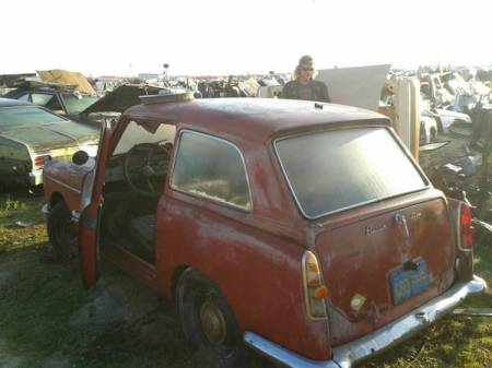 1959 Austin A40 Farina left rear