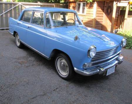 1961 Morris Oxford Series V right front