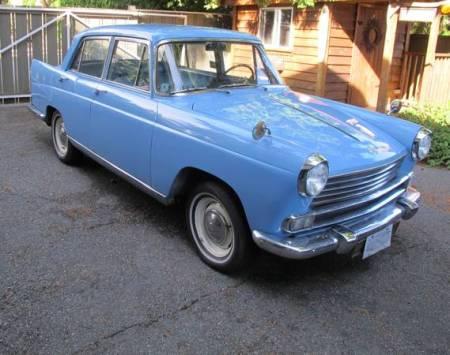 1961 Morris Oxford Series V right rear