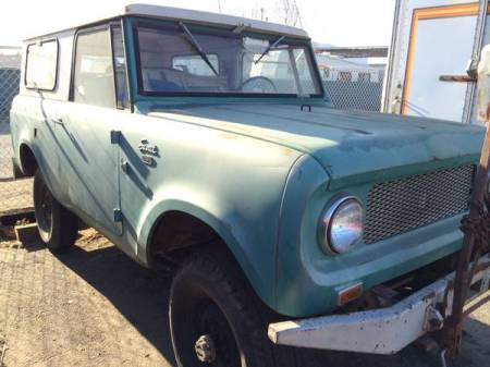 1964 International Scout 80 right front