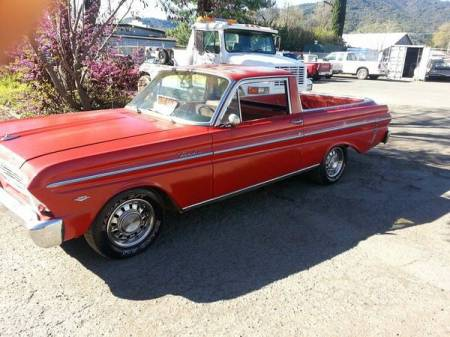 1965 Ford Ranchero left front