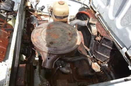 1967 Autobianchi Primula engine