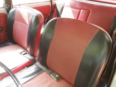 1967 Autobianchi Primula interior
