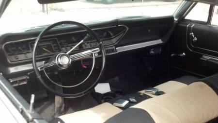 1967 Plymouth Fury III interior