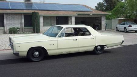1967 Plymouth Fury III left front