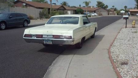 1967 Plymouth Fury III right rear